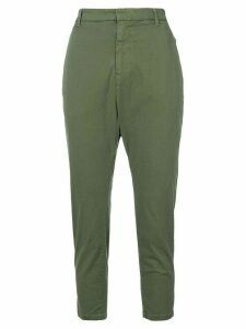Nili Lotan high waisted cropped trousers - Green