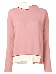 Marni open back jumper - Pink
