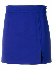 Ssheena slit mini skirt - Blue