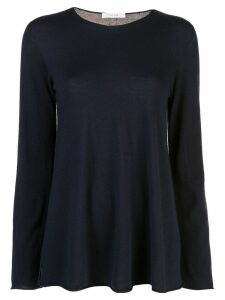The Row Sabel crew neck jumper - Blue