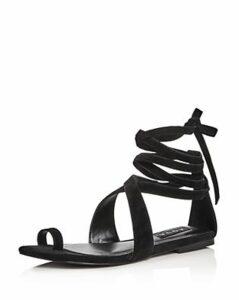 Helen Owen x Aqua Women's Bay Suede Lace Up Sandals - 100% Exclusive