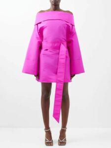 Palmer//harding - Trap Ruffled Cotton-blend Shirt - Womens - White