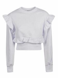 MSGM Msgm Ruffle Sweatshirt