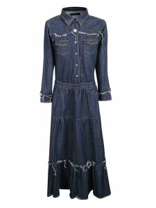 Alanui Alanui Denim Maxi Dress