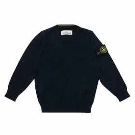 Stone Island Junior Crew Knit Jumper
