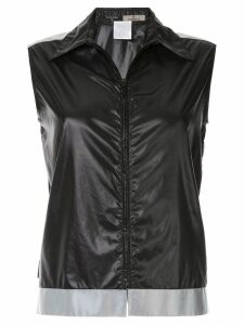 Chanel Pre-Owned CC logo sleeveless shirt - Black
