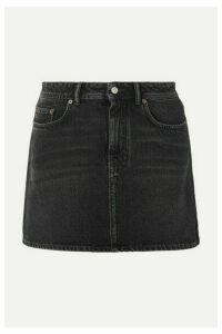 Acne Studios - Caitlyn Denim Mini Skirt - Black