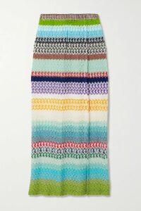 Raquel Diniz - Alice Floral-print Silk-chiffon Maxi Dress - Pink