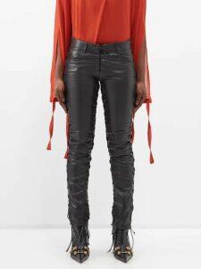 Burberry - Wallpaper Heritage Stripe Cotton Blouse - Womens - Beige Multi