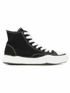Maison Mihara Yasuhiro Original Sole hi-top sneakers - Black