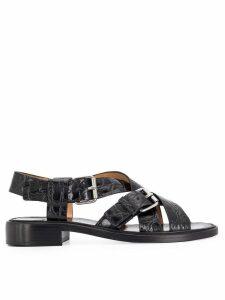 Church's buckled sandals - Black
