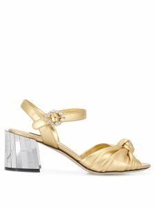 Dolce & Gabbana Mordore sandals - GOLD