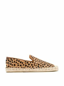 Blue Bird Shoes animal print espadrilles - NEUTRALS