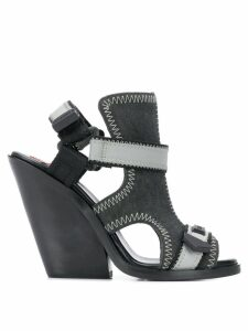Diesel Sa-Flamingo sandals - Black
