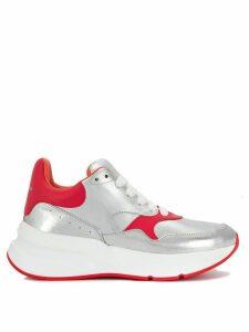 Alexander McQueen oversized Runner sneakers - Silver