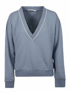 Ermanno Scervino Embroidered Logo Sweatshirt