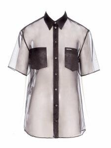Miu Miu Miu Miu Sheer Silk Shirt