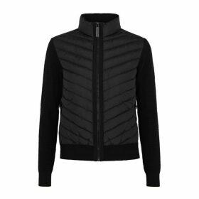 Canada Goose Hybridge Black Knit Jacket
