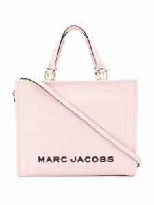 Marc Jacobs logo print tote bag - Pink
