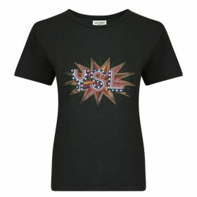 Saint Laurent Logo T Shirt