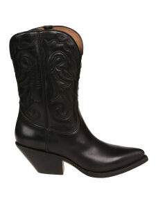 Buttero Almond Toe Ankle Boots