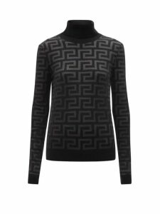 The Row - Sibel Wool And Cashmere-blend Sweater - Womens - Black