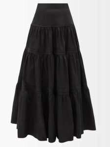 Joseph - Contrast Seam Round Neck Sweater - Womens - White