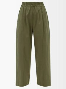 See By Chloé - Summer Floral Print Cotton Blouse - Womens - Green Multi