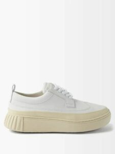 Maria Lucia Hohan - Reem Metallic Jersey Off The Shoulder Maxi Dress - Womens - Silver