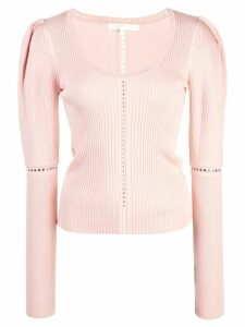 Jonathan Simkhai ribbed pullover - Pink