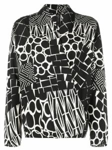 Zero + Maria Cornejo all-over print blouse - Black