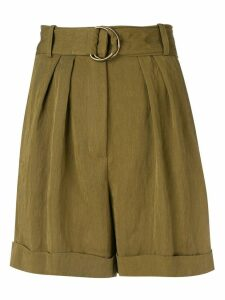 Masscob Olive casual shorts - Green