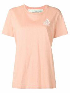 Off-White logo T-shirt - Neutrals