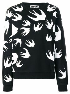 McQ Alexander McQueen bird detail sweatshirt - Black