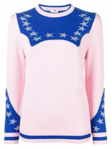 Ultràchic star detail jumper - PINK