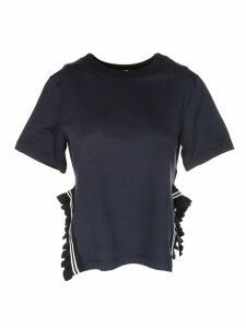 Dondup Side-ruffled T-shirt