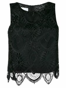 Dondup crochet top - Black