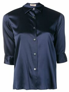 Blanca Vita slim-fit shirt - Blue