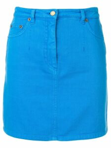 Alberta Ferretti mini denim skirt - Blue