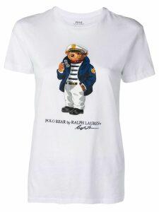 Polo Ralph Lauren Polo Bear printed T-shirt - White