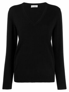 Brunello Cucinelli V-neck jumper - Black