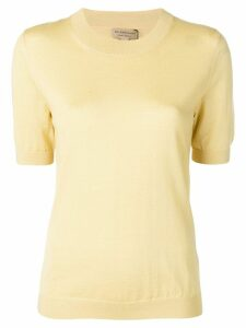 Burberry crew neck jumper - Yellow