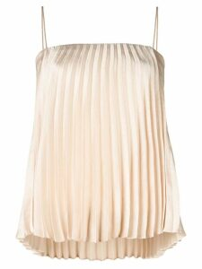 Vince pleated cami top - Neutrals