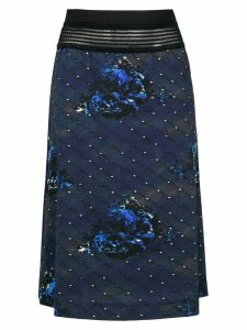 À La Garçonne Night midi skirt - Blue