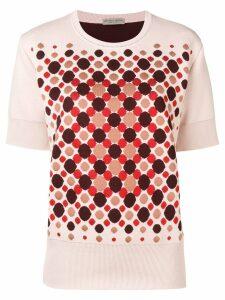 Bottega Veneta geometric print T-shirt - Pink