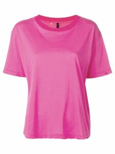 UNRAVEL PROJECT loose-fit T-shirt - PINK