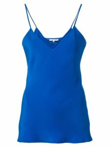 Gold Hawk v neck cami top - Blue