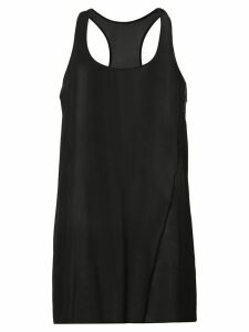 Uma Wang oversized silk tank top - Black