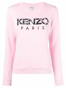 Kenzo roses sweatshirt - Pink