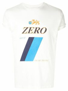 Ground Zero Zero printed T.shirt - White